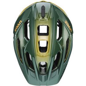 UVEX Quatro Helmet, Oliva/amarillo